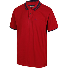 Regatta Talcott II Polo Herrer, delhi red